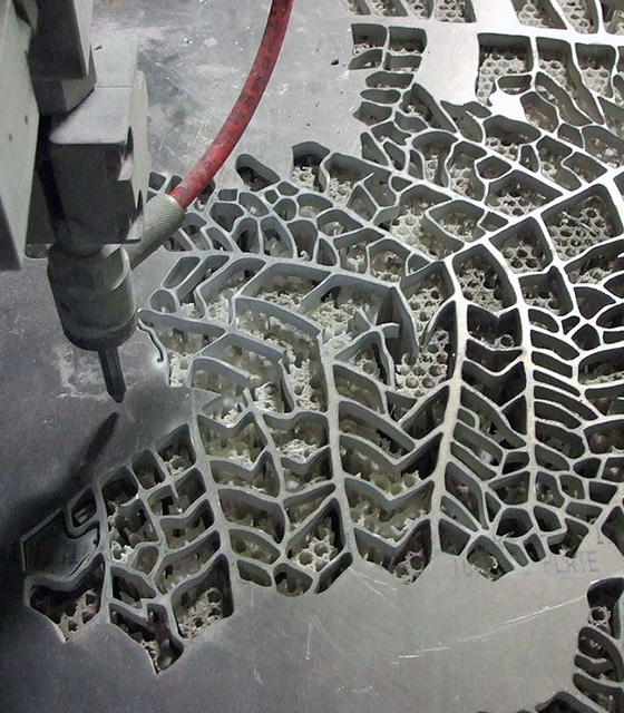 Waterjet Cutting Freeform Sheet Metal
