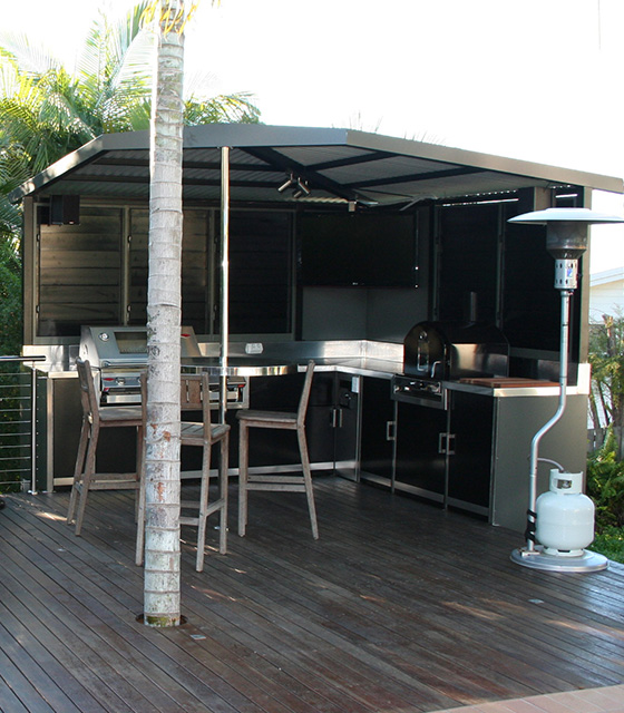 Remarkable Outdoor Kitchens And Stainless Steel Kitchen Benchtops Gmtry Best Dining Table And Chair Ideas Images Gmtryco
